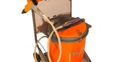 Установка для нанесения порошковых красок Electron HI TECH c баком 50л (Турция)