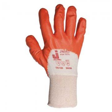 Перчатки с масло-бензоустойчивым покрытием JN063