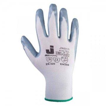 Защитные перчатки с нитриловым покрытием JN011