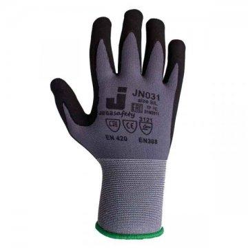Перчатки с микронитриловым покрытием JN031